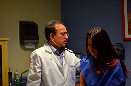 Oncólogo consulta lr